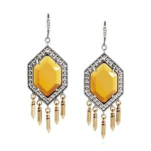 Grand Cabaret Statement Fringe Earrings